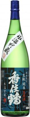 2019・氷温貯蔵 生酛 純米 生原酒1.8L