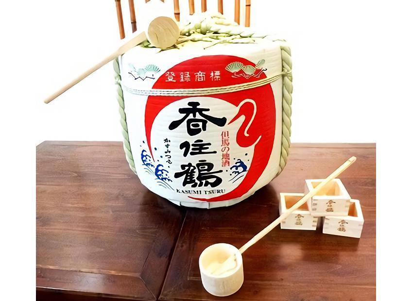 香住鶴 清酒 樽酒